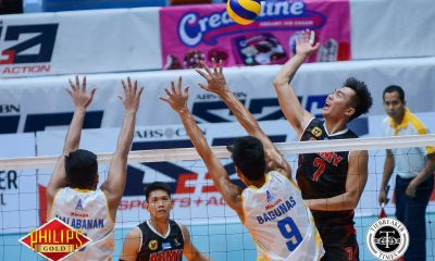 Tiebreaker Times Army snaps Air Force's streak to nab Game One News PVL Volleyball  Timothy Tajanlangit Romnick Rico Rico De Guzman Rhovyl Verayo Philippine Army Troopers Jeffrey Malabanan Jason Uy Fauzi Ismail Bryan Bagunas Benjaylo Labide Army Troopers Anthony Arbasto Air Force Airmen 2017 PVL Season 2017 PVL Men's Reinforced Conference