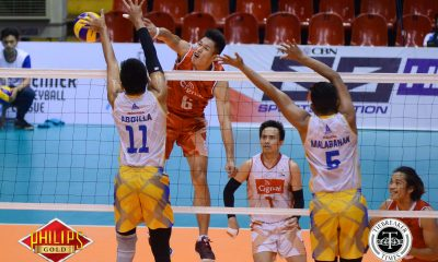 Tiebreaker Times Sans National Team players, Cignal sweeps Air Force to seal top two spot News PVL Volleyball  Ysay Marasigan Vince Mangulabnan Sandy Montero Saku Capate Rueben Inaudito Oliver Almadro Edwin Tolentino Clarence Esteban Cignal HD Spikers Air Force Airmen 2017 PVL Season 2017 PVL Men's Open Conference