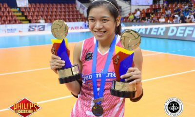 Tiebreaker Times Valdez cleared for Japan training camp, says Palou News PVL Volleyball  Ricky Palou Creamline Cool Smashers Alyssa Valdez 2017 PVL Women's Open Conference 2017 PVL Season