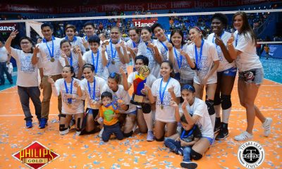 Tiebreaker Times Blood, Tears, and Pocari Sweat: Lady Warriors establish dynasty News PVL Volleyball  Rommel Abella Roger Gorayeb Pocari Sweat Lady Warriors Myla Pablo Michelle Strizak Melissa Gohing Krystal Rivers Jennifer Keddy Jeng Bualee Gyzelle Sy Grethcel Soltones Bali Pure Purest Water Defenders 2017 PVL Women's Reinforced Conference 2017 PVL Season