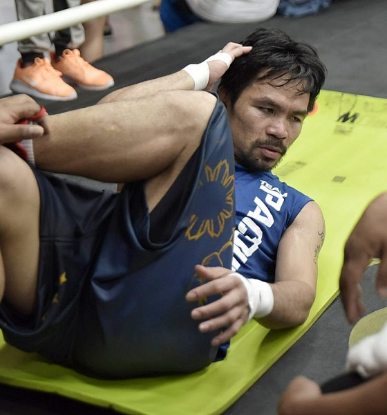 Tiebreaker Times Rematch with Mayweather not on Manny Pacquiao's radar for time being Boxing News  Shawn Porter Mikey Garcia Manny Pacquiao Danny Garcia