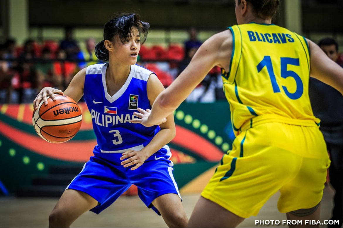 Philippine Sports News - Tiebreaker Times Perlas open campaign in dominant fashion, romp Singapore by 34 points 2017 SEA Games Basketball News Perlas Pilipinas  Patrick Aquino Janine Pontejos Camille Sambile Afril Bernardino 2017 SEA Games - Basketball