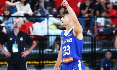 Tiebreaker Times Coach Chot tries to ease pressure off young Kobe Paras Basketball Gilas Pilipinas News  Kobe Paras Chot Reyes 2017 Jones Cup