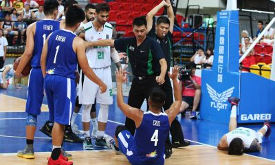 Tiebreaker Times Carl Cruz apologetic after getting physical with Iraq player Basketball Gilas Pilipinas News  Carl Cruz 2017 Jones Cup
