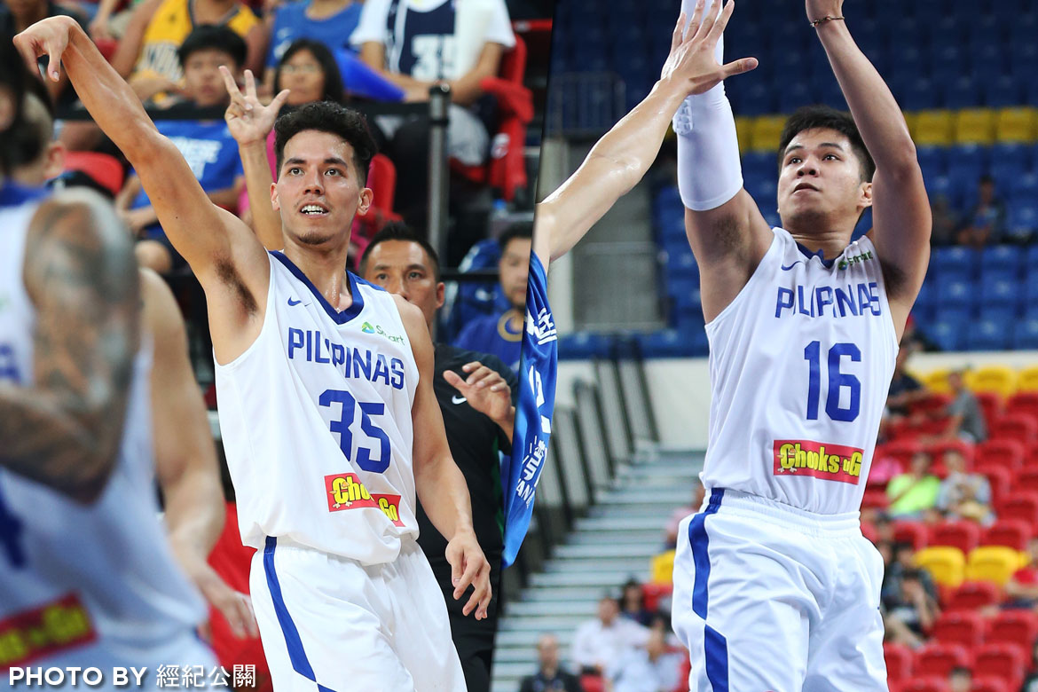 Tiebreaker Times Gilas snipers Wright, Pogoy left frustrated after misfiring against Korea Basketball Gilas Pilipinas News  Roger Pogoy Matthew Wright 2017 Jones Cup