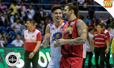 Tiebreaker Times All is well between the Semerad twins Basketball News PBA  TNT Katropa San Miguel Beermen PBA Season 42 David Semerad Anthony Semerad 2017 PBA Commissioners Cup