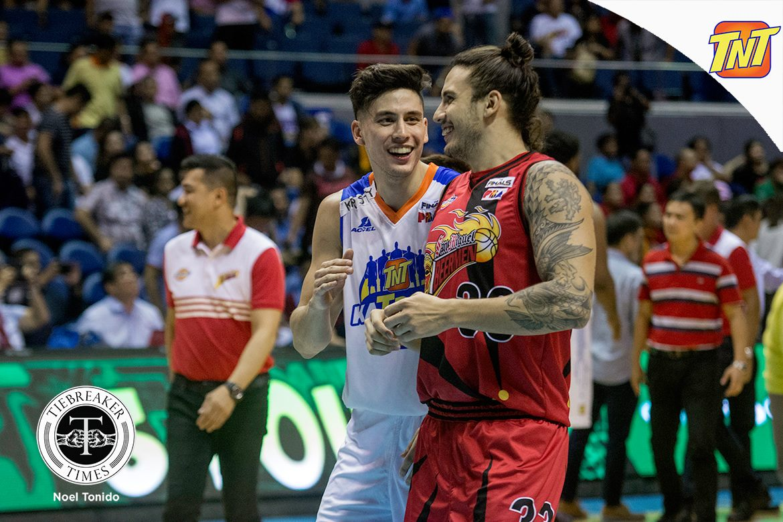 Tiebreaker Times David Semerad excited to team up with twin Anthony anew Basketball News PBA  TNT Katropa PBA Season 44 David Semerad 2019 PBA Philippine Cup