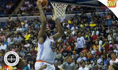 Tiebreaker Times Joshua Smith still goes home a winner Basketball News PBA  TNT Katropa PBA Season 42 Joshua Smith 2017 PBA Commissioners Cup