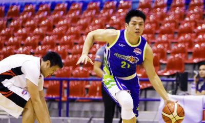 Tiebreaker Times Jeron Teng ties league record for triple-doubles as Flying V moves to 9-0 Basketball News PBA D-League  Zark's Jawbreakers Thomas Torres RR De Leon Oda Tampus Mac Cardona Jeron Teng Gino Enriquez Flying V Thunder Eric Altamirano 2017 PBA D-League Season 2017 PBA D-League Foundation Cup