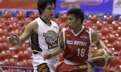 Tiebreaker Times Racal Motors sends Gamboa Coffee to two records of futility Basketball News PBA D-League  Racal Motors Alibaba Mike Parala Mike Ayonayon Mark Montuano Mac Tallo Leo Avenido Jerry Codinera Jam Cortes Gamboa Coffee Lovers 2017 PBA D-League Season 2017 PBA D-League Foundation Cup