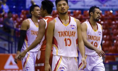 Tiebreaker Times Tanduay ends elims campaign strong, seals third seed Basketball News PBA D-League  Von Tambeling Tanduay Rhum Masters Renz Palma Racal Motors Alibaba Mac Tallo Lawrence Chongson Jerry Codinera James Martinez Allan Mangahas 2017 PBA D-League Season 2017 PBA D-League Foundation Cup
