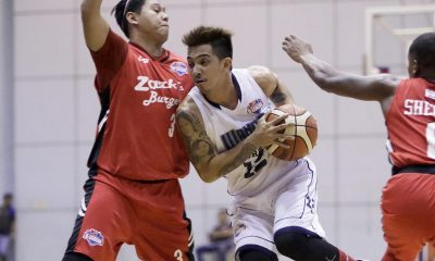 Tiebreaker Times Michael Juico, Wangs hand Zark's 41-point romping Basketball News PBA D-League  Zark's Jawbreakers Wangs Basketball Couriers RR De Leon Robby Celiz Robbie Herndon Michael Juico John Ambuludto Clark Bautista 2017 PBA D-League Season 2017 PBA D-League Foundation Cup