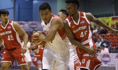 Tiebreaker Times Batangas inches closer to securing playoff spot, eliminates Racal Basketball News PBA D-League  Racal Motors Alibaba Province of Batangas (PBA D-League) Paolo Pontejos Jhaps Bautista Jessie Saitanan Jerry Codinera Jamil Ortuoste Eric Gonzales Cedrick Ablaza 2017 PBA D-League Season 2017 PBA D-League Foundation Cup