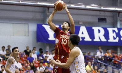 Tiebreaker Times Varilla takes charge late, lifts Tanduay to the playoffs Basketball News PBA D-League  Wangs Basketball Couriers Von Tambeling Tanduay Rhum Masters Robbie Herndon Paul Varilla Pablo Lucas Lawrence Chongson James Martinez Chris De Chavez 2017 PBA D-League Season 2017 PBA D-League Foundation Cup