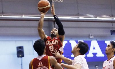 Tiebreaker Times Tanduay vents ire on Zark's with league-record 76-point rout Basketball News PBA D-League  Zark's Jawbreakers Tanduay Rhum Masters Robby Celiz Paul Sanga Lawrence Chongson Jerwin Gaco Jerome Ferrer James Martinez Gino Enriquez Clark Bautista 2017 PBA D-League Season 2017 PBA D-League Foundation Cup