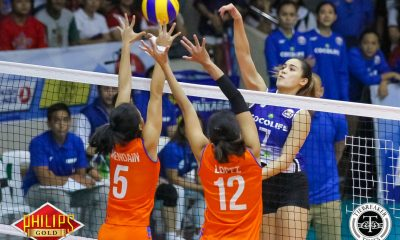 Tiebreaker Times Cocolife bucks Generika-Ayala comeback in classification match News PSL Volleyball  Michele Gumabao Kungfu Reyes Joanne Bunag Generika Lifesavers Francis Vicente Fiola Ceballos Denden Lazaro Cocolife Asset Managers Angelica Cayuna Angeli Araneta 2017 PSL Season 2017 PSL All Filipino Conference