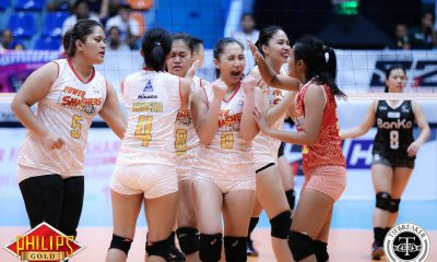 Tiebreaker Times Power Smashers slip past BanKo-Perlas for first win News PVL Volleyball  Vira Guillema Regine Arocha Power Smashers Perlas Lady Spikers Nicole Tiamzon Nes Pamilar Nai Muhammed Jovielyn Prado Eunice Galang Ella De Jesus 2017 PVL Women's Open Conference 2017 PVL Season