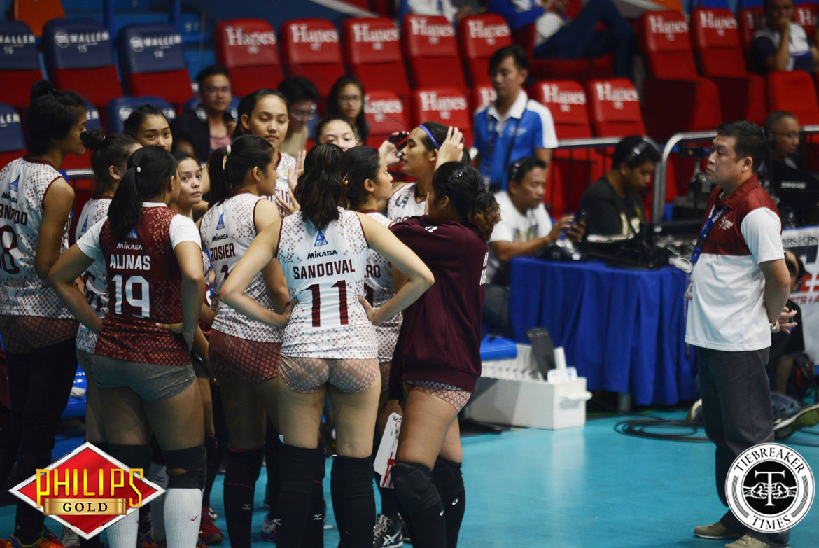 Philippine Sports News - Tiebreaker Times Molde, Lady Maroons respect Yee's decision to leave News PVL UP  UP Women's Volleyball Jerry Yee Isa Molde 2017 PVL Women's Collegiate Conference 2017 PVL Season