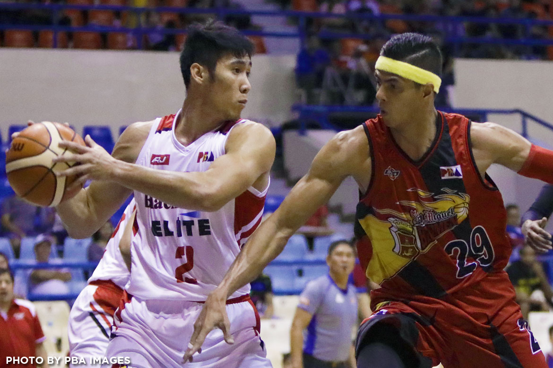 Philippine Sports News - Tiebreaker Times Sour return for Mac Belo Basketball News PBA  PBA Season 42 Mac Belo Blackwater Elite 2017 PBA Governors Cup