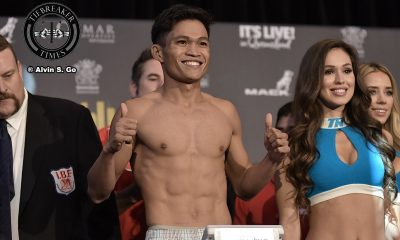 Tiebreaker Times Jerwin Ancajas heads to Thailand to watch Srisaket Sor Rungvisai-Diaz bout Boxing News ONE Championship  Srisaket Sor Rungvisai ONE: Kingdom of Heroes Jerwin Ancajas Iran Diaz