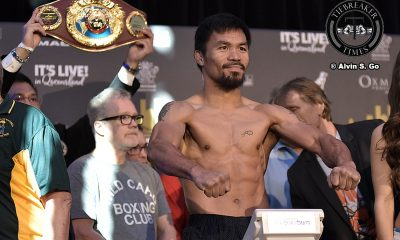 Tiebreaker Times Palace on Pacquiao loss: 'Nothing will change' Boxing News  Manny Pacquiao vs Jeff Horn Manny Pacquiao