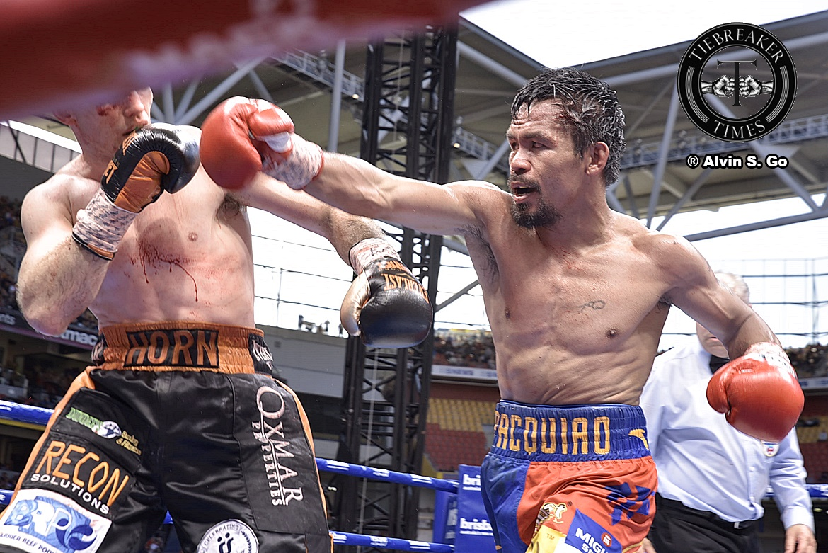 Philippine Sports News - Tiebreaker Times Manny Pacquiao teases showdown with Conor McGregor in 2018 Boxing News UFC  Manny Pacquiao Conor McGregor