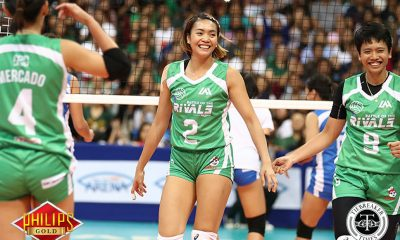 Tiebreaker Times Aby Maraño goes Beast Mode for a cause DLSU News Volleyball  DLSU Women's Volleyball Battle of the Rivals Aby Marano