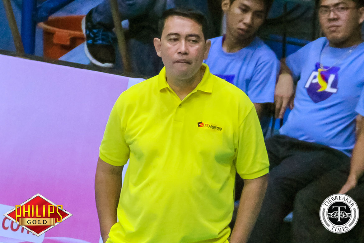 Tiebreaker Times RDJ counting on better execution after uncharacteristic Game One loss Basketball News PSL  Ramil De Jesus F2 Logistics Cargo Movers 2017 PSL Season 2017 PSL All Filipino Conference