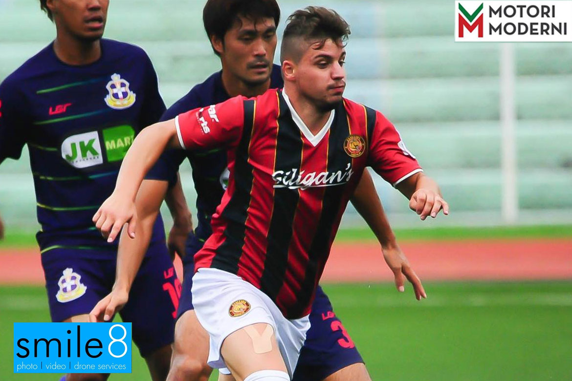 Tiebreaker Times Stallion-Laguna grabs third consecutive win as Mascazzini's strike sinks Ilocos United Football News PFL  Stallion-Laguna FC Ilocos United FC Gabriele Mascazzini 2017 PFL Season