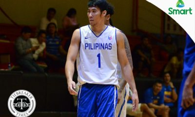 Tiebreaker Times Mac Belo out for FIBA ACQ first window 2021 FIBA Asia Cup Basketball Gilas Pilipinas News  Mac Belo Gilas Pilipinas Men Gabby Cui 2021 FIBA Asia Cup Qualifiers