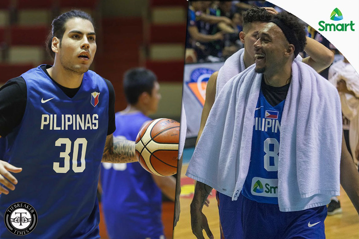 Philippine Sports News - Tiebreaker Times Standhardinger believes he and Abueva will be a handful come Asia Cup Basketball Gilas Pilipinas News  Christian Standhardinger Calvin Abueva 2017 FIBA Asia Cup