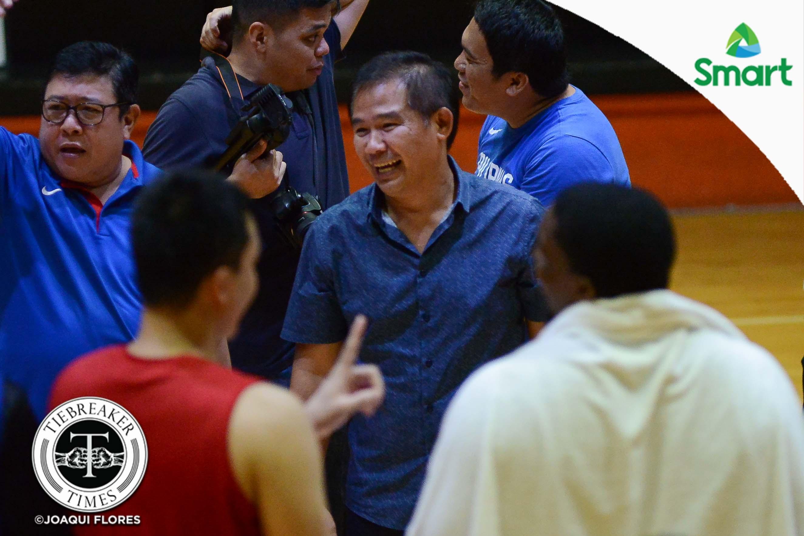 Philippine Sports News - Tiebreaker Times Chot gets perfect birthday present Basketball News PBA  Chot Reyes 2017 FIBA Asia Cup