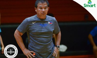 Tiebreaker Times Chot Reyes hopes for understanding as Gilas set to hold private practice 2019 FIBA World Cup Qualifiers Basketball Gilas Pilipinas News  Chot Reyes 2019 FIBA World Cup Qualifers Group B