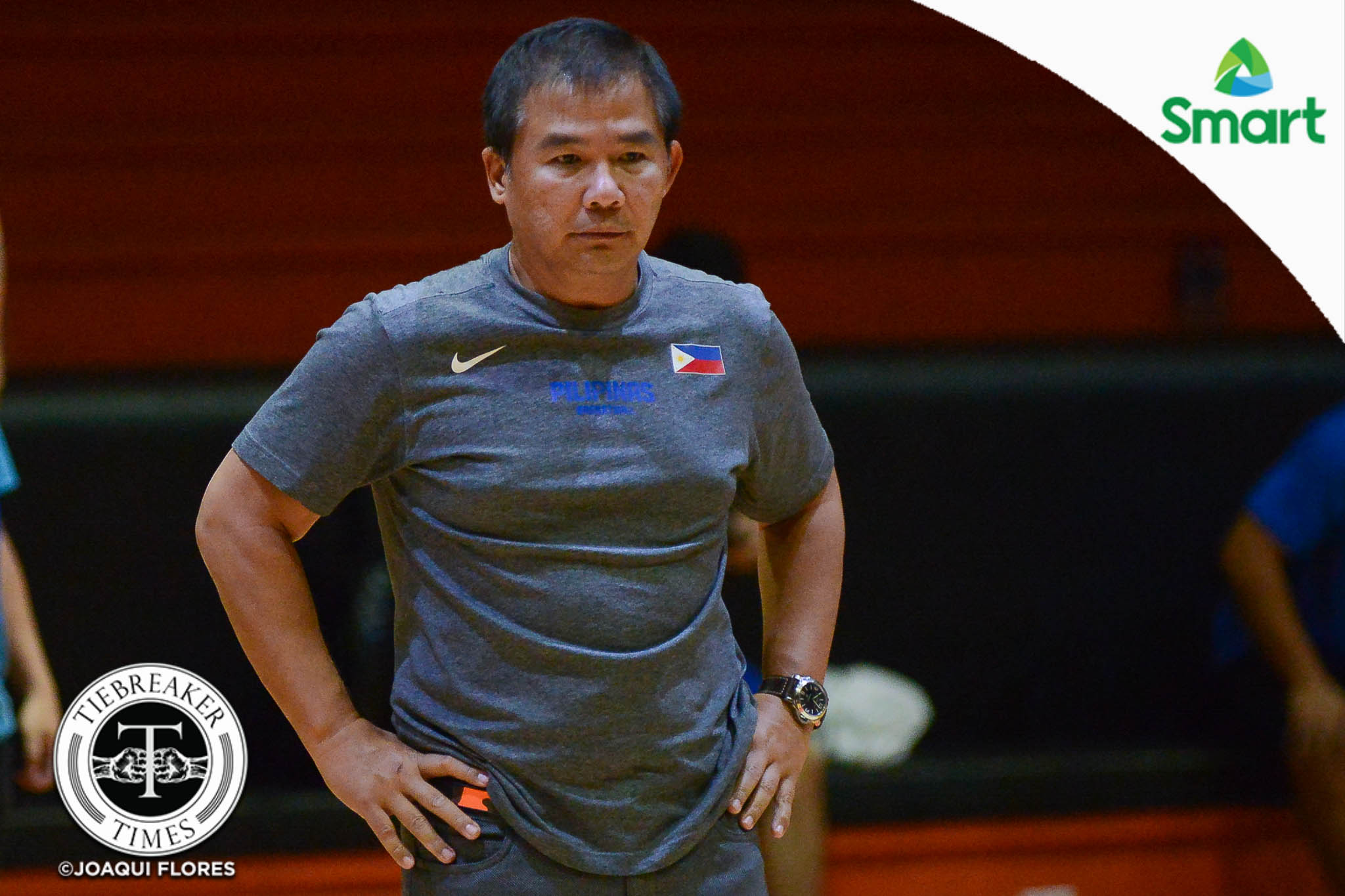 Philippine Sports News - Tiebreaker Times Chot Reyes hopes for understanding as Gilas set to hold private practice 2019 FIBA World Cup Qualifiers Basketball Gilas Pilipinas News  Chot Reyes 2019 FIBA World Cup Qualifers Group B