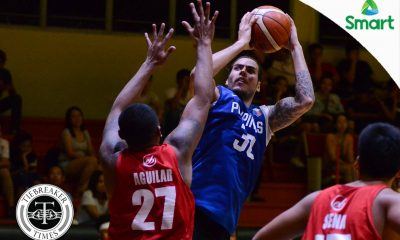 Tiebreaker Times Standhardinger's classification as naturalized player raises questions to Gilas Basketball Gilas Pilipinas News  Christian Standhardinger Butch Antonio