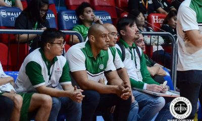 Tiebreaker Times Ali Peek takes on new mountain to climb as Saint Benilde assistant coach Basketball CSB NCAA News  TY Tang NCAA Season 93 Seniors Basketball NCAA Season 93 Benilde Seniors Basketball Ali Peek