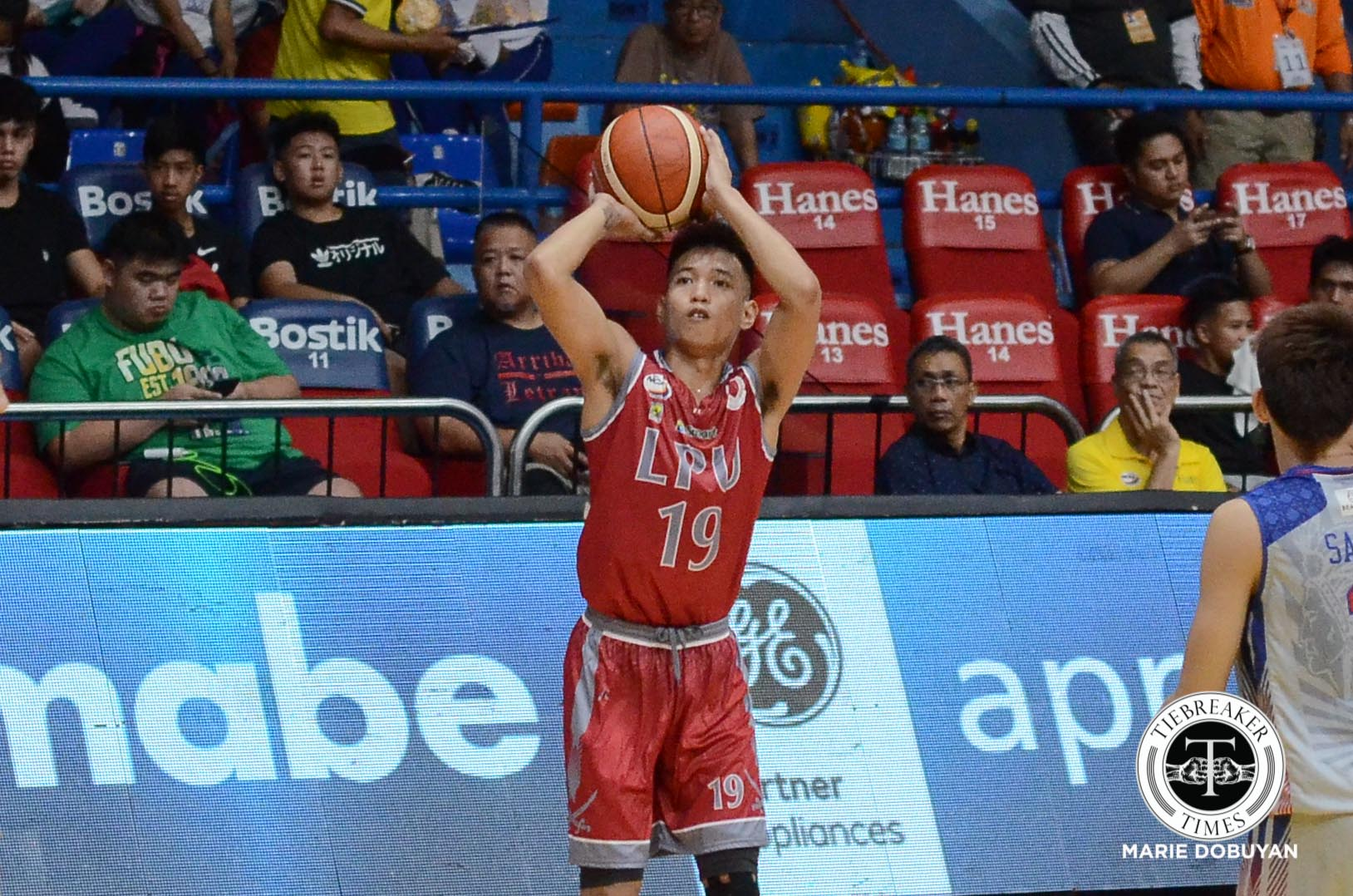 Philippine Sports News - Tiebreaker Times Marcelino twins show Topex Robinson they can defend like him Basketball LPU NCAA News  Topex Robinson NCAA Season 93 Seniors Basketball NCAA Season 93 Lyceum Seniors Basketball Jayvee Marcelino Jaycee Marcelino