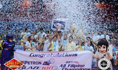 Tiebreaker Times Petron set to join Macau Invitational News PSL Volleyball  Tats Suzara Petron Blaze Spikers 2017 PSL Season 2017 PSL All Filipino Conference 2017 Macau Invitational Women's Volleyball Tournament