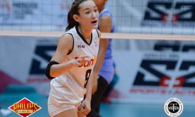 Tiebreaker Times BanKo clinches semis berth, extends Pocari Sweat-Air Force's skid News PVL Volleyball  Pocari Sweat-Air Force Lady Warriors Perlas Lady Spikers Myla Pablo Joy Dacoron Jem Ferrer Jeanette Panaga Jasper Jimenez Ella De Jesus Dong dela Cruz Amanda Villanueva 2018 PVL Season 2018 PVL Open Conference