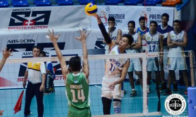 Tiebreaker Times Minor setback tests Ran Abdilla's focus against IEM News PVL Volleyball  RanRan Abdilla Air Force Airmen 2017 PVL Season 2017 PVL Men's Open Conference