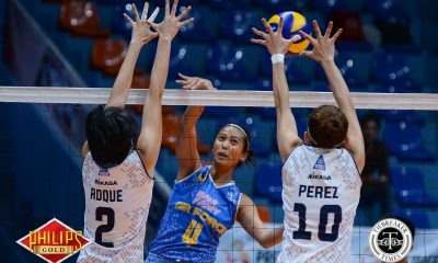 Tiebreaker Times Hair Fairy-Air Force clinches semis slot, sends Akari-Adamson packing AdU News PVL Volleyball  Wendy Semana Mae Crisosotomo Jocemer Tapic Jema Galanza Jasper Jimenez Iari Yongco Airess Padda Air Force Jet Spikers Adamson Women's Volleyball 2017 PVL Women's Open Conference 2017 PVL Season