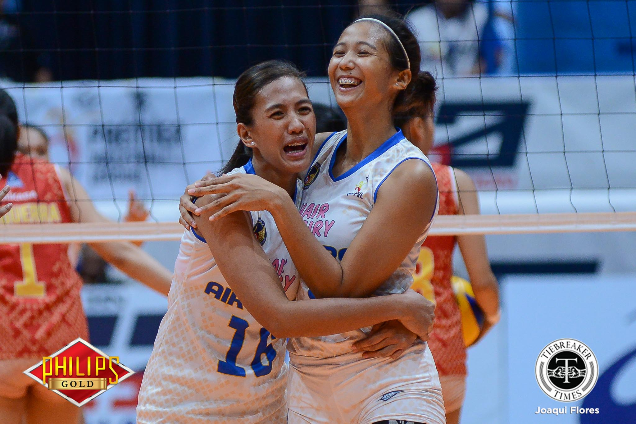 Philippine Sports News - Tiebreaker Times Resilient Hair Fairy-Air Force snatches fourth win News PVL Volleyball  Wendy Semana Regine Arocha Power Smashers Nes Pamilar Mary Ann Pantino Mary Ann Balmaceda Jovelyn Prado Jasper Jimenez Iari Yongco Air Force Jet Spikers 2017 PVL Women's Open Conference