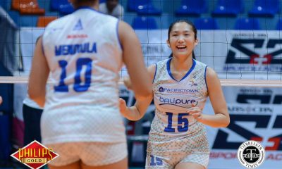 Tiebreaker Times Jerrili Malabanan feted as Philips Gold-PVL Player of the Week News PVL Volleyball  PVL Player of the Week Jerrili Malabanan Bali Pure Purest Water Defenders 2017 PVL Women's Open Conference 2017 PVL Season
