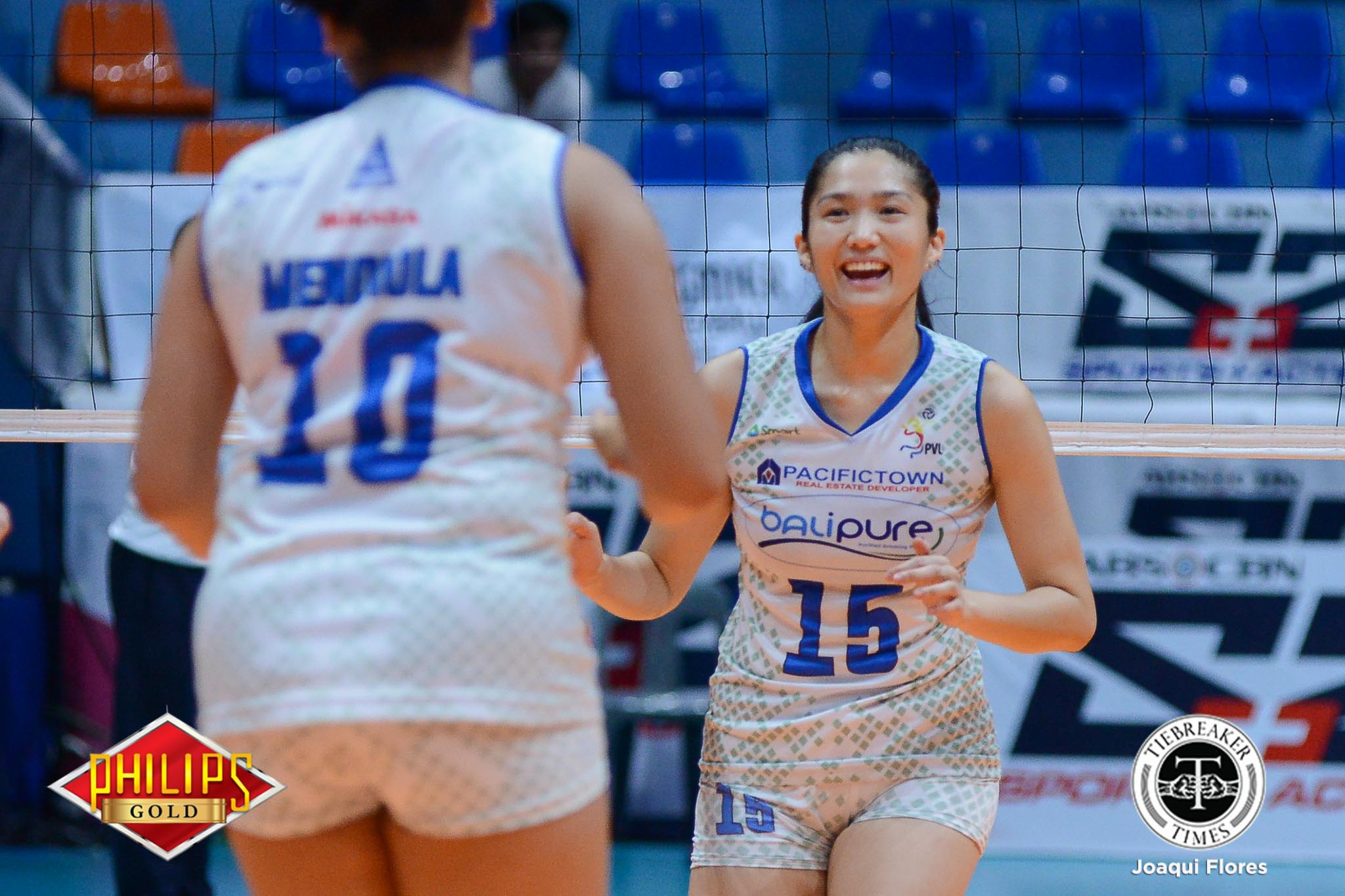 Philippine Sports News - Tiebreaker Times Jerrili Malabanan feted as Philips Gold-PVL Player of the Week News PVL Volleyball  PVL Player of the Week Jerrili Malabanan Bali Pure Purest Water Defenders 2017 PVL Women's Open Conference 2017 PVL Season