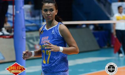Tiebreaker Times Air Force outlasts Bali Pure for share of second News PVL Volleyball  Wendy Semana Roger Gorayeb Mary Ann Balmaceda Jocemer Tapic Jerrili Malabanan Jasper Jimenez Jasmine Nabor Iari Yongco Grethcel Soltones Dell Palomata Bali Pure Purest Water Defenders Air Force Jet Spikers Aiko Urdas 2017 PVL Women's Open Conference 2017 PVL Season