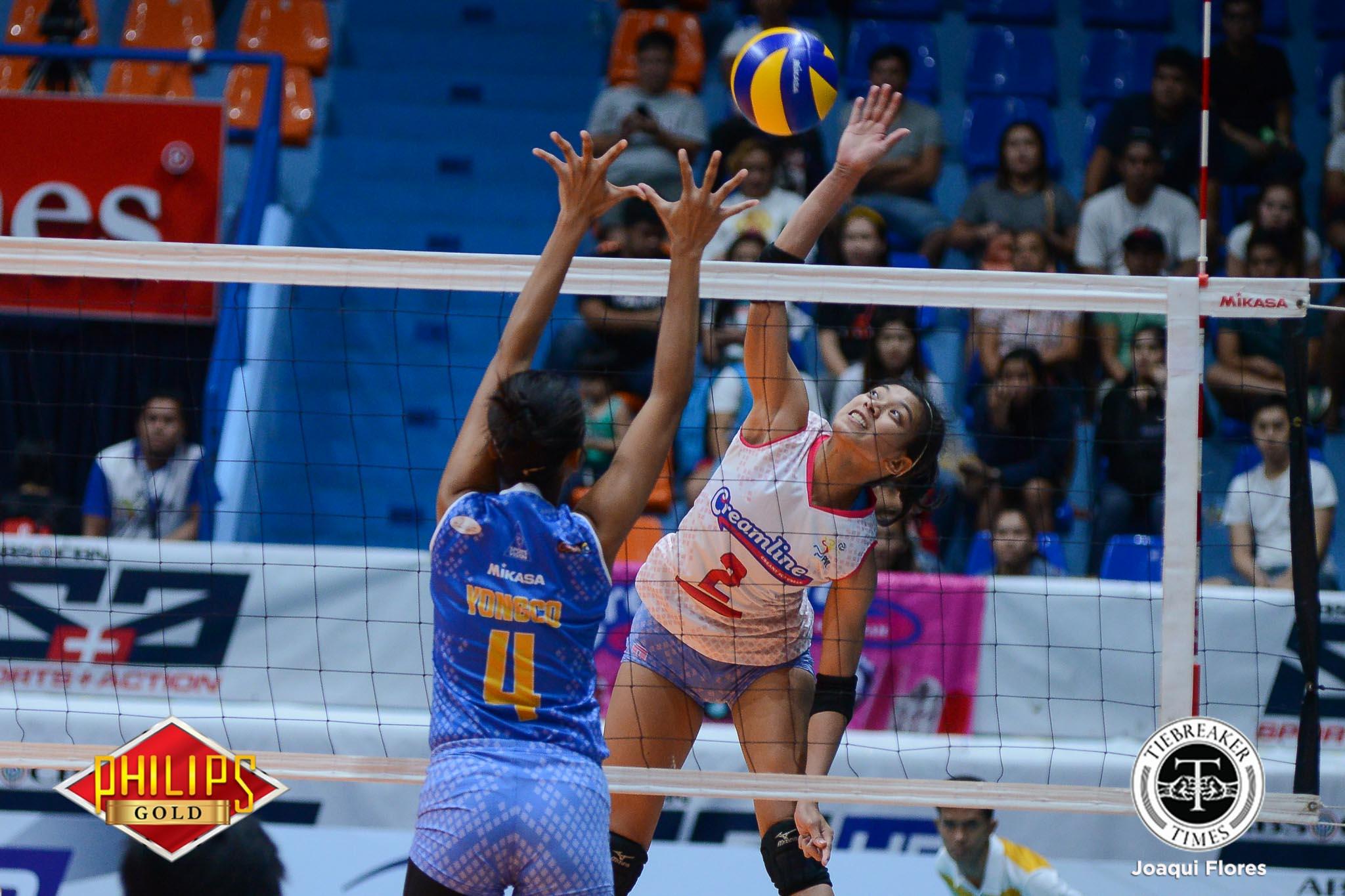 Philippine Sports News - Tiebreaker Times Rebisco withdraws Alyssa Valdez from remaining PVL matches News PVL Volleyball  Creamline Cool Smashers Alyssa Valdez 2017 PVL Women's Open Conference 2017 PVL Season