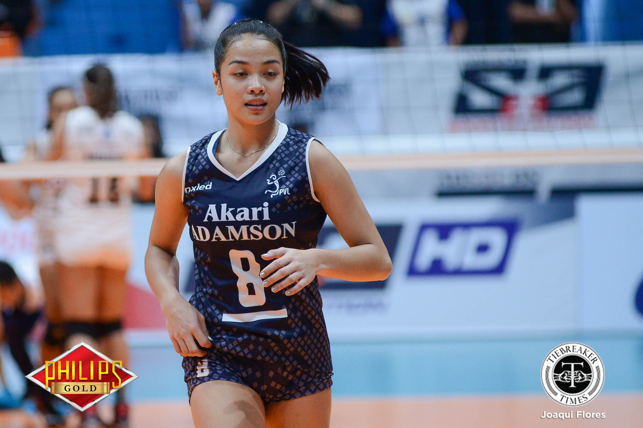 Tiebreaker Times Akari-Adamson nails breakthrough victory, keeps Power Smashers winless AdU News PVL Volleyball  Regina Arocha Power Smashers Nes Pamilar Mary Pacres Louie Romero Jema Galanza Jellie Tempiatura Chiara Permentilla Airess Padda Adamson Women's Volleyball 2017 PVL Women's Open Conference 2017 PVL Season
