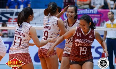 Tiebreaker Times Developing mental strength on top of UP's to-do-list News PVL UP Volleyball  UP Women's Volleyball Jerry Yee 2017 PVL Women's Open Conference 2017 PVL Season