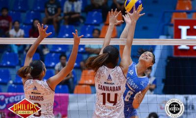 Tiebreaker Times Pocari Sweat bucks slow start against UP to give De Guzman debut win News PVL UP Volleyball  UP Women's Volleyball Tots Carlos Pocari Sweat Lady Warriors Myla Pablo Melissa Gohing Kai Nepomuceno Isa Molde Gyzelle Sy Elaine Kasilag 2017 PVL Women's Open Conference 2017 PVL Season