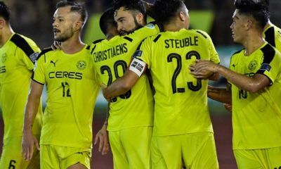 Tiebreaker Times Magical night in Bacolod as Ceres-Negros sinks Home, advances to next AFC Cup round AFC Cup Football News PFL  Roland Muller Risto Vidakovic Manny Ott Home United Fernando Rodriguez Ceres-Negros FC 2017 AFC Cup